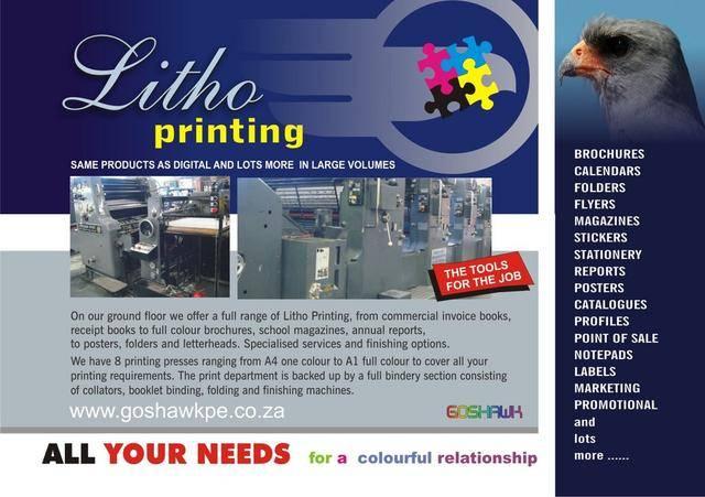 Long run litho printing